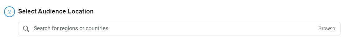 lựa chọn khu vực đối tượng trông giống nhau trên facebook